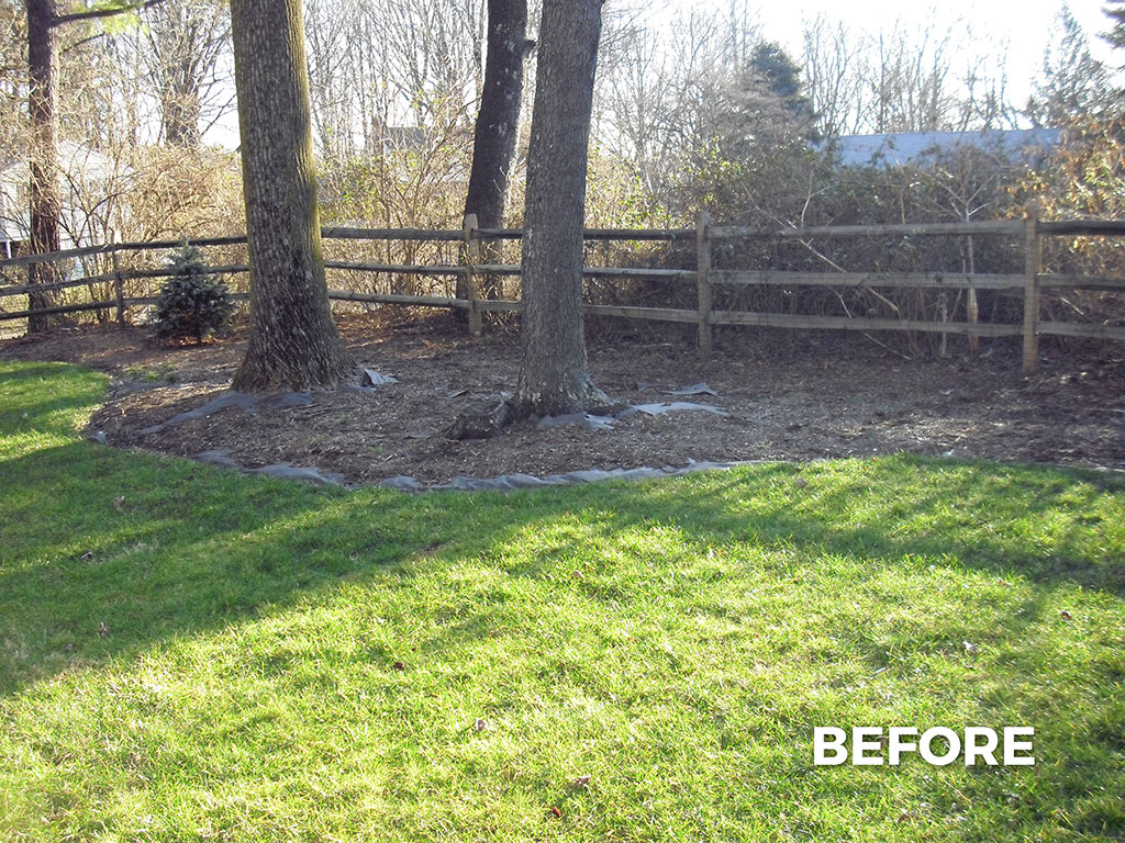 Mulch And Deep Edge – 1 (Before)
