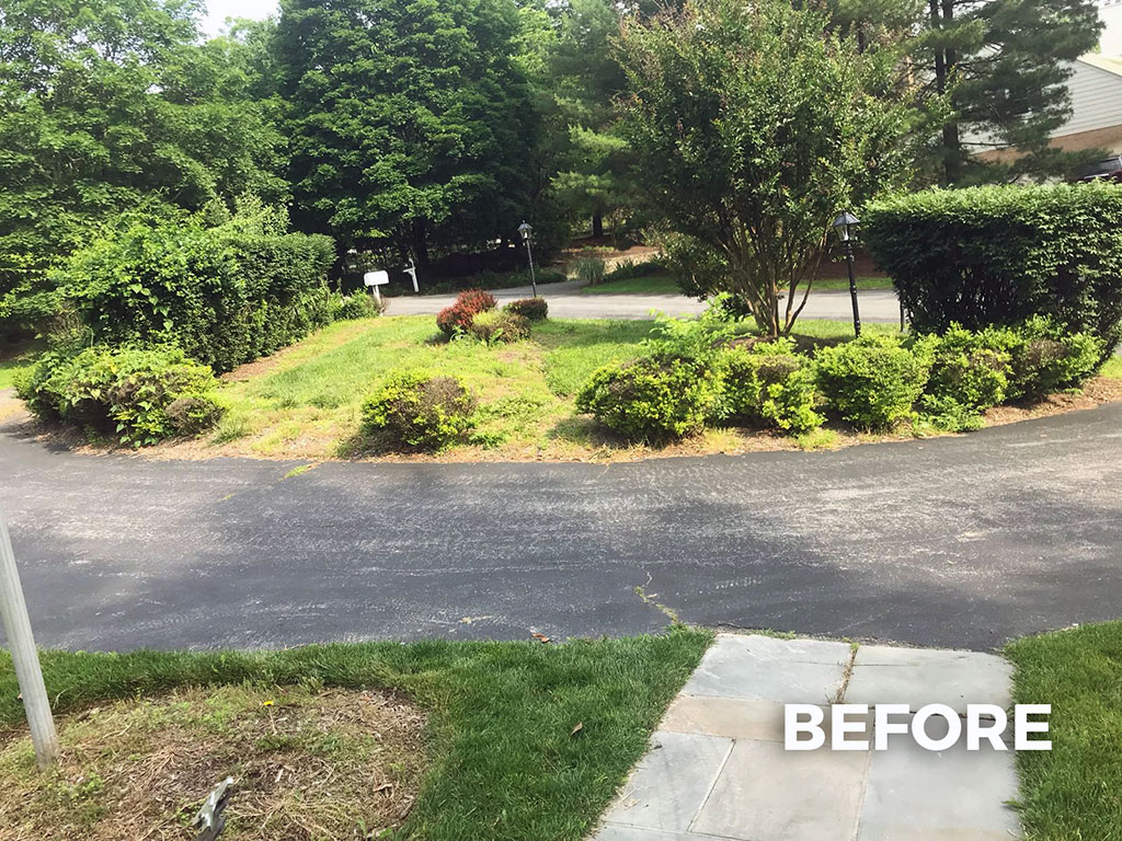 Mulch And Deep Edge – 3 (Before)